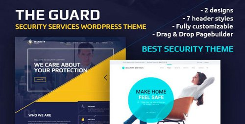 ThemeForest - The Guard v1.9.1 - Security Company WordPress Theme - 16449726