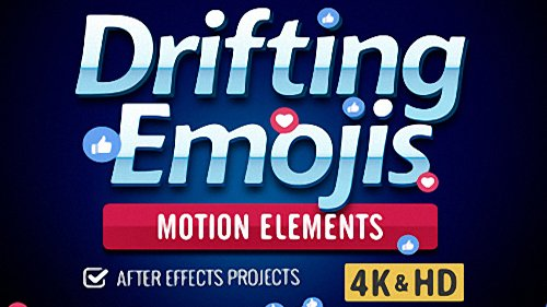Drifting Emoji - Project for After Effects (Digital Juice