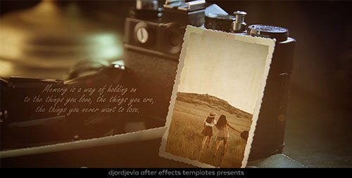 Vintage Lovely Memories - Project for After Effects (Videohive)