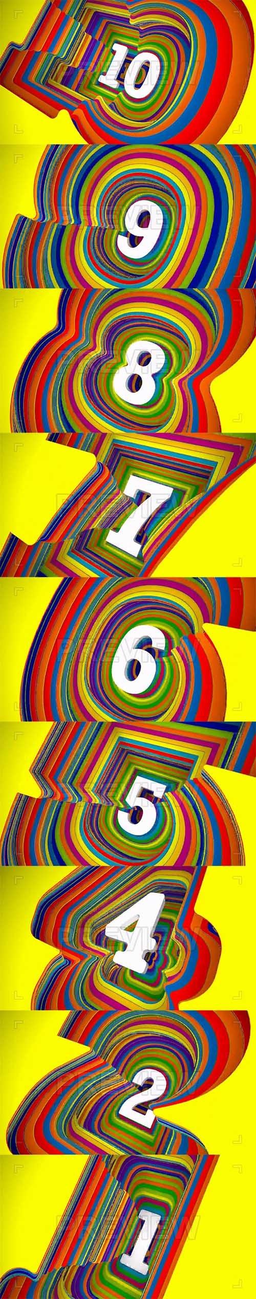 MA - Colorful Countdown 54563