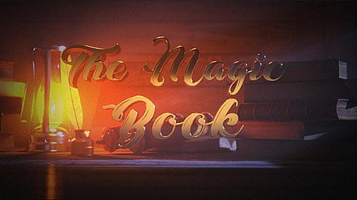 The Magic Book - Project for After Effects (Videohive)