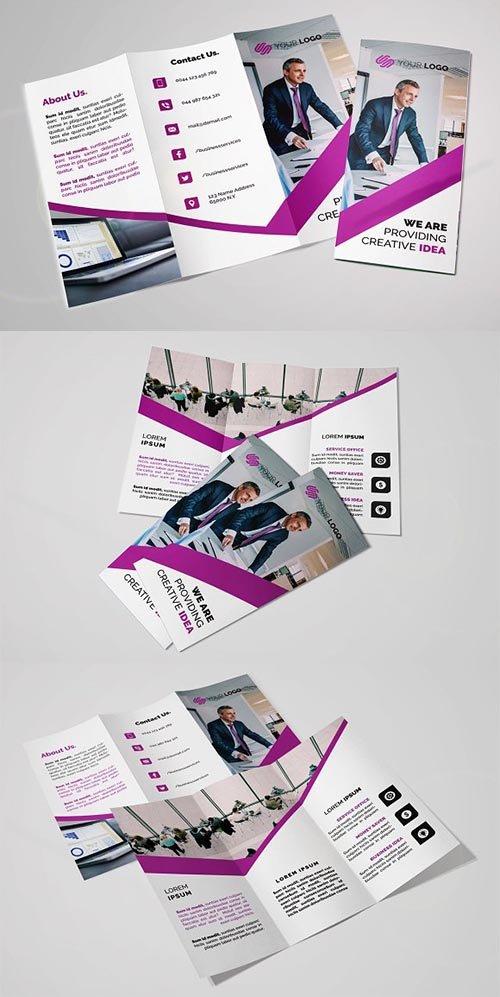 CreativeMarket - Business Trifold Brochure 2291283