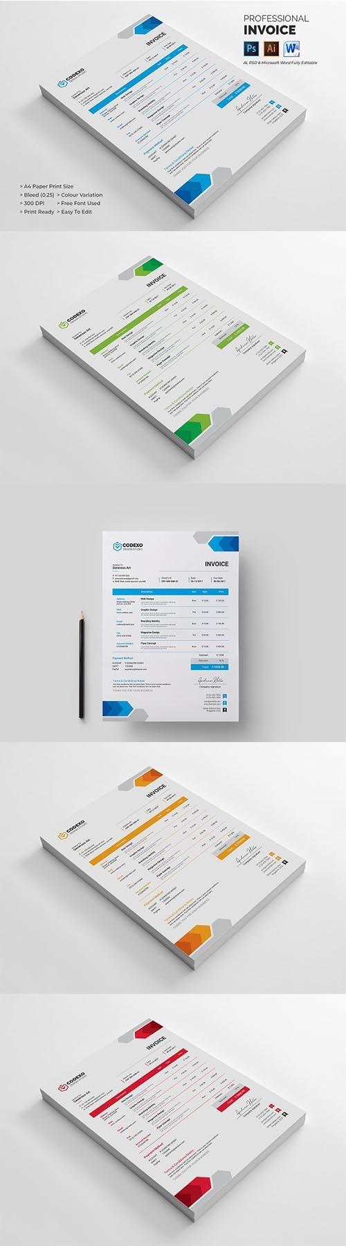 CreativeMarket - Invoice 2291878