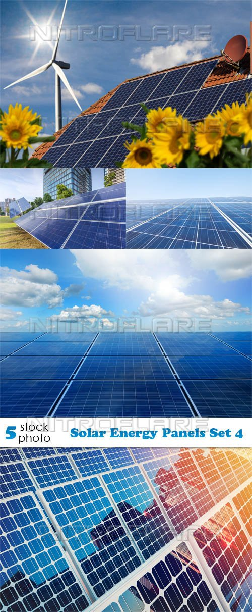 Photos - Solar Energy Panels Set 4