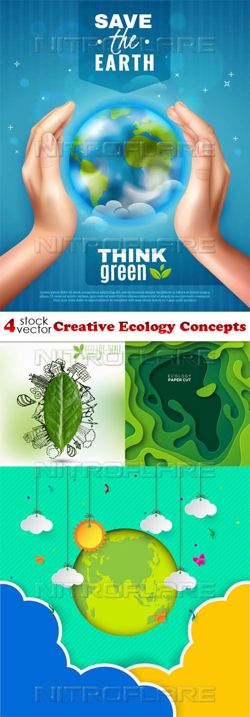 Vectors - Creative Ecology Concepts