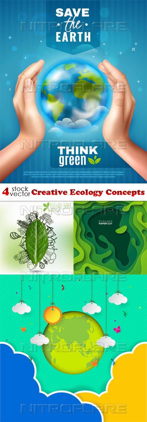 Vectors - Creative Ecology Concepts