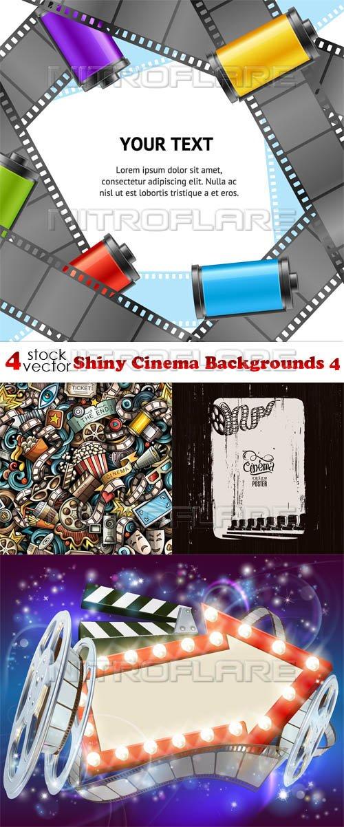 Vectors - Shiny Cinema Backgrounds 4