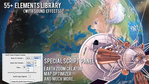 Earth Zoom Pro Kit 7962581 (With 12 December 17 UPDATE) - Project for After Effects (Videohive)