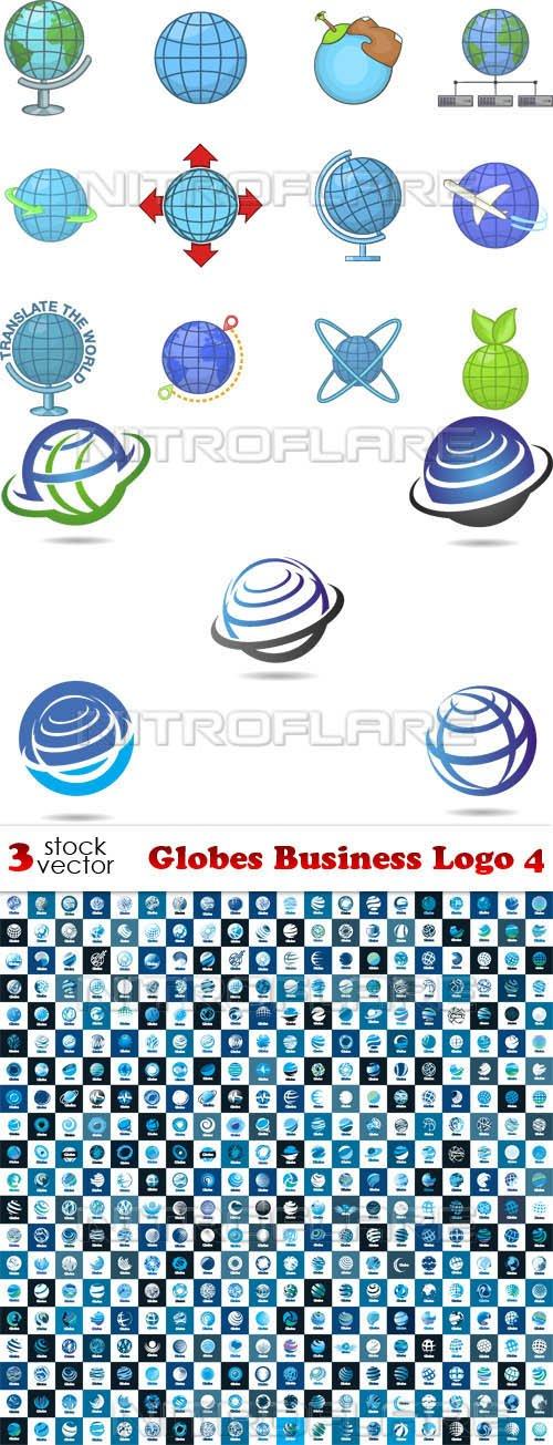 Vectors - Globes Business Logo 4