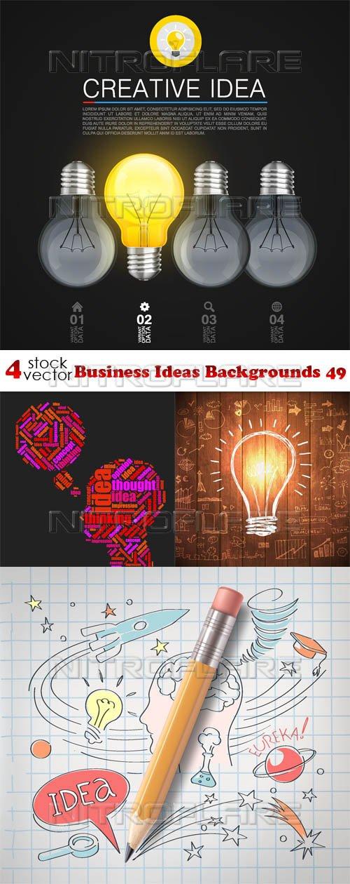 Vectors - Business Ideas Backgrounds 49