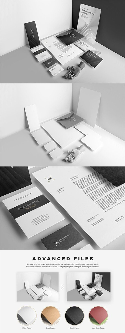 Stationery Branding Mockup Vol. 3