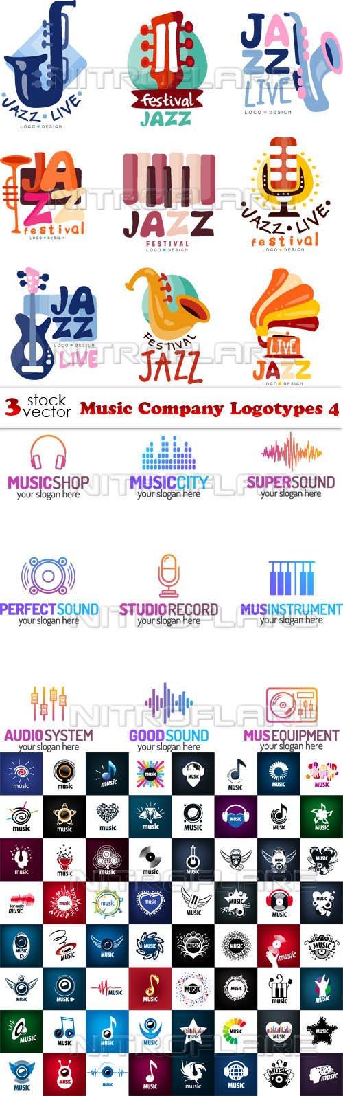 Vectors - Music Company Logotypes 4