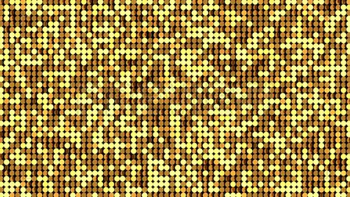 MA - Gold LED Stage Background 64215