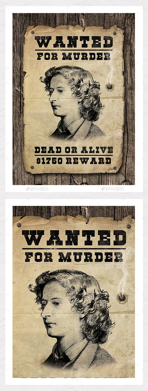 GR - Wanted Poster Graphic - Create Your Own 8922750
