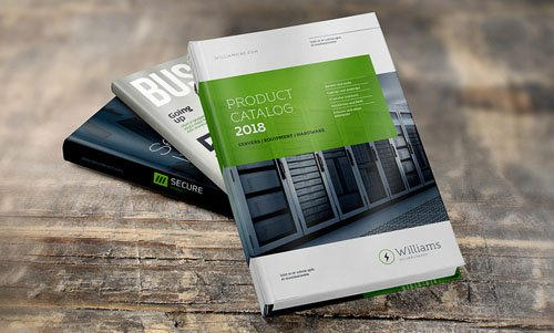 Book Inside and Cover PSD Mockup Template