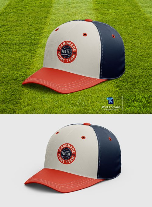 Baseball Cap PSD Mockup 2018