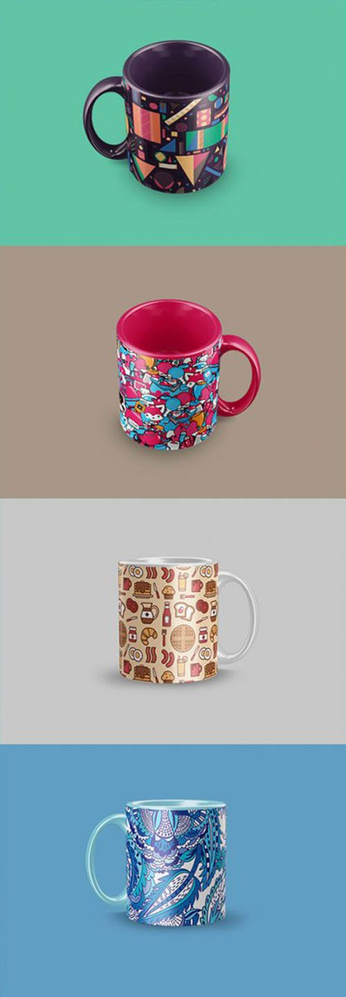 Coffee Mug PSD Mockups