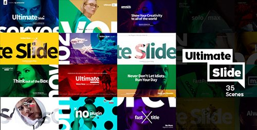 Ultimate Slide 1 | Slideshow Package - Project for After Effects (Videohive)