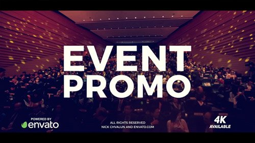 Event Promo 21100026 - Project for After Effects (Videohive)