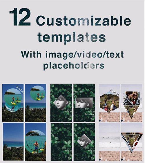 MA - Instagram Stories Templates Kit 63939