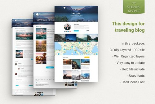 Travel Blog Theme - CM 2298628