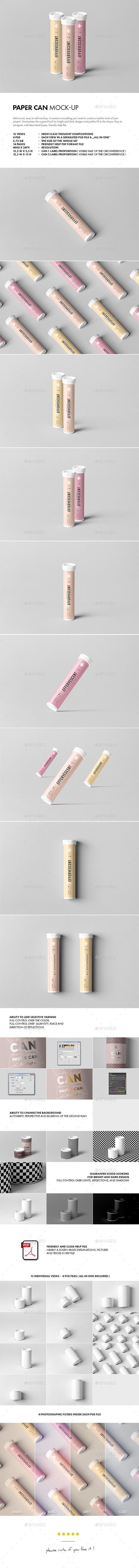 Effervescent Tablets Tube Mock-up 21441844