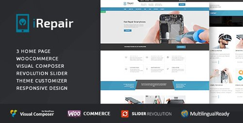 ThemeForest - iRepair v1.2.0 - Mobile Phone Repair, Electronics, Laptop Repair - 15832781