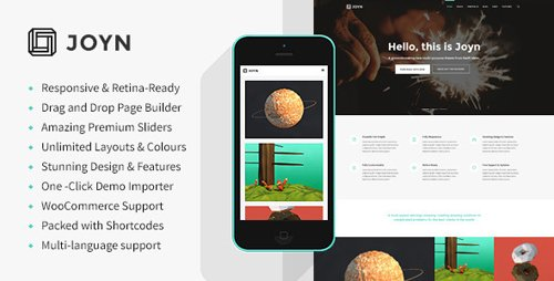 ThemeForest - JOYN v2.6.31 - Creative Multi-Purpose Theme - 8854021