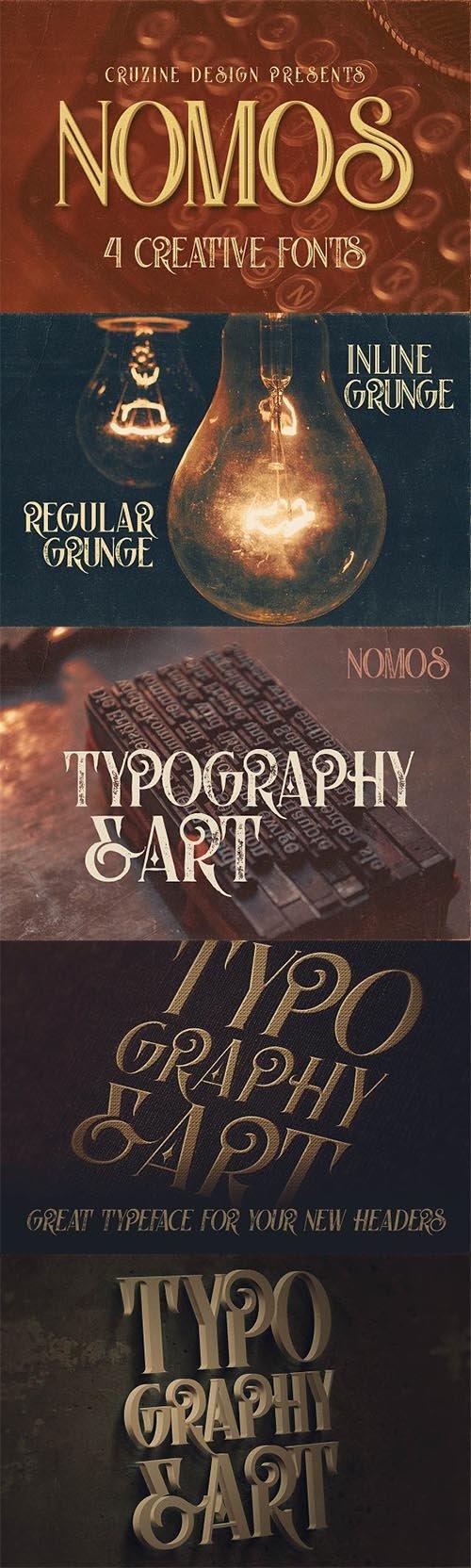 Nomos Typeface 1631899