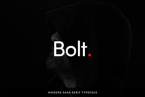 Bolt Sans - Modern Typeface + WebFont