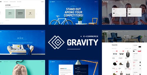 ThemeForest - Gravity v1.0.1 - ECommerce, Agency & Presentation Theme (Update: 17 January 18) - 20538041