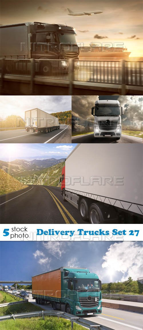 Photos - Delivery Trucks Set 27