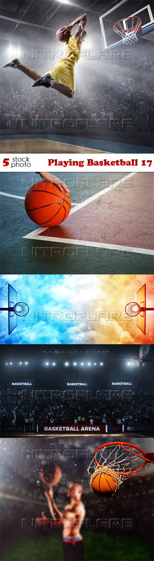 Photos - Playing Basketball 17