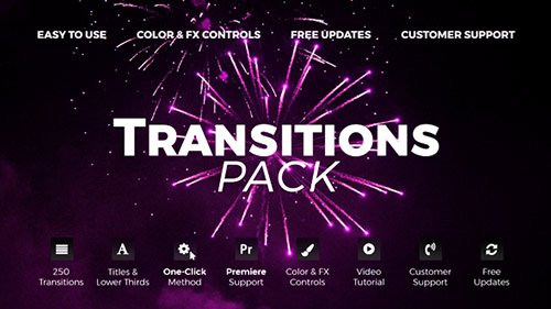Transitions 4.1 - Project for After Effects (Videohive)