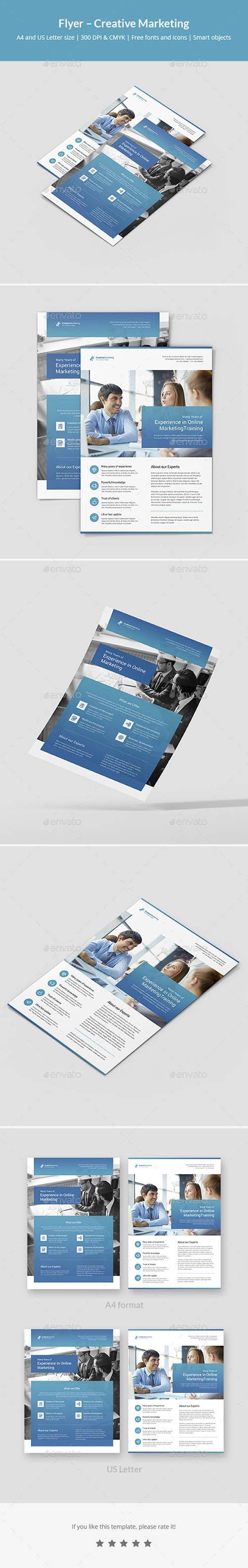Flyer – Creative Marketing 21445466