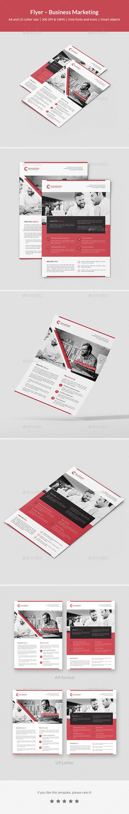 Flyer – Business Marketing 21413689