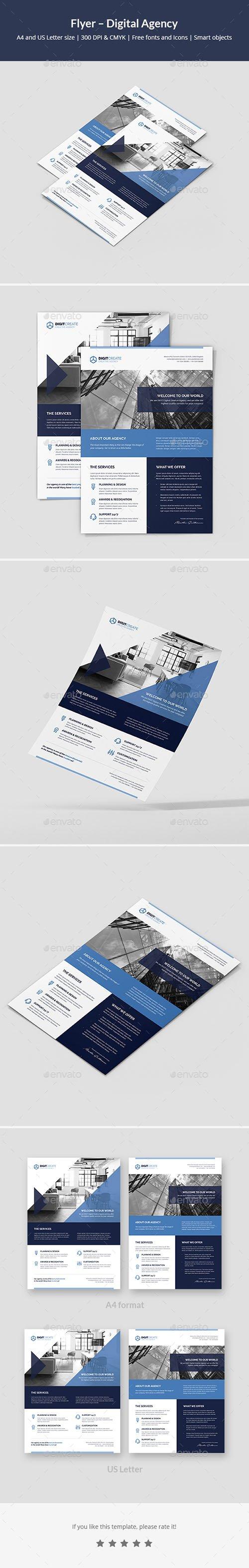 Flyer – Digital Agency 21434737