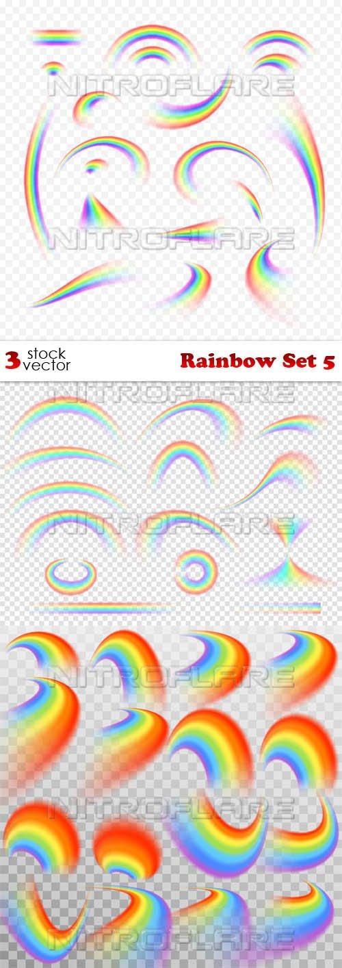 Vectors - Rainbow Set 5