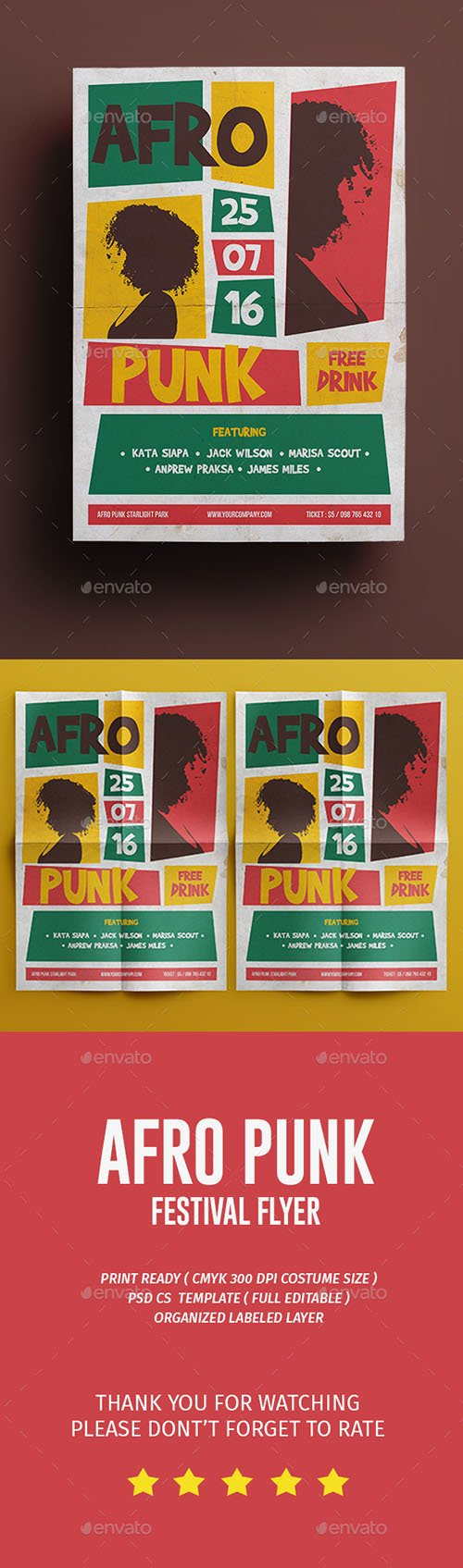 Afro Punk Flyer 17136098