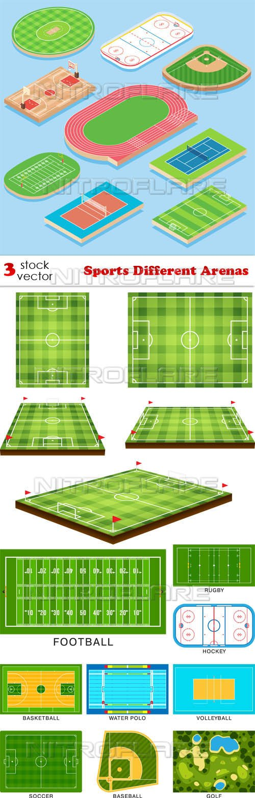 Vectors - Sports Different Arenas
