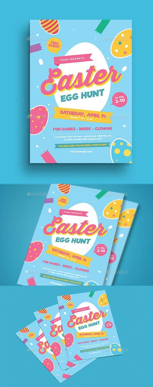 Easter Egg Hunt Flyer 21509017