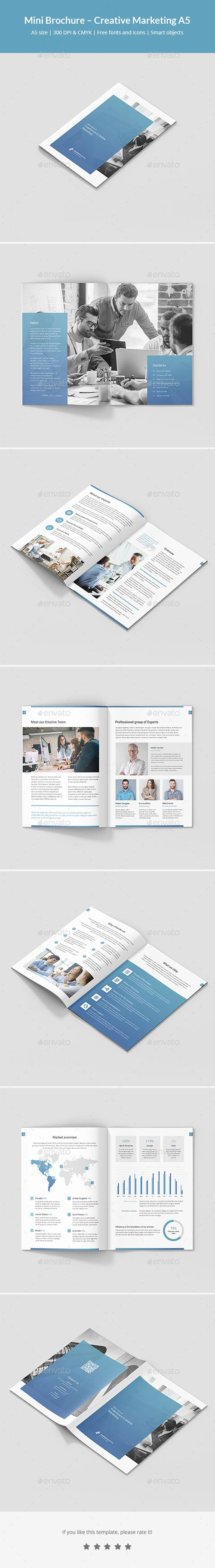 Mini Brochure – Creative Marketing A5