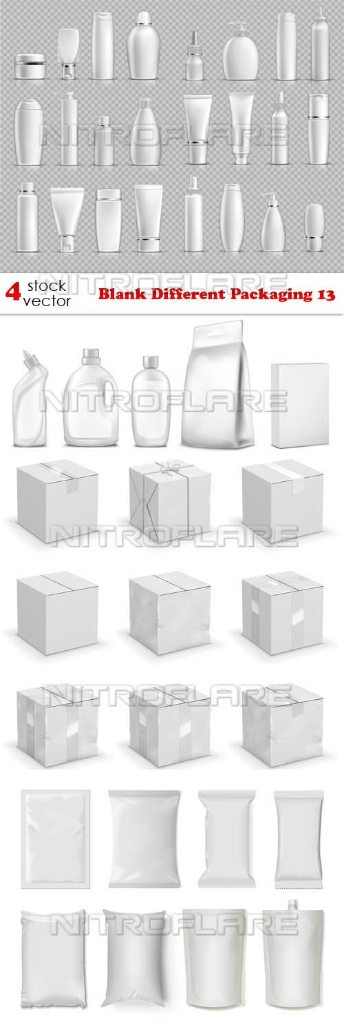 Vectors - Blank Different Packaging 13