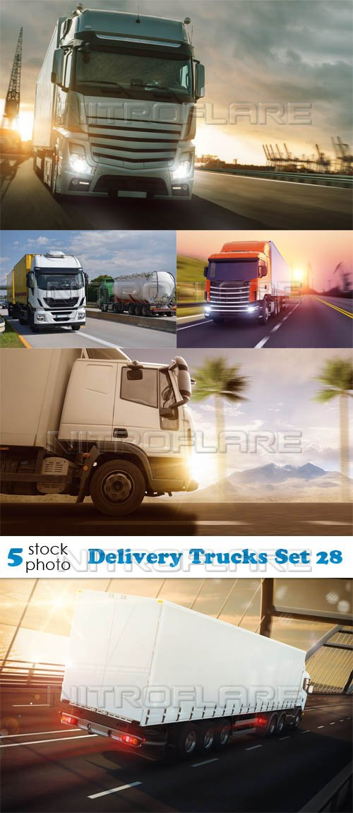 Photos - Delivery Trucks Set 28