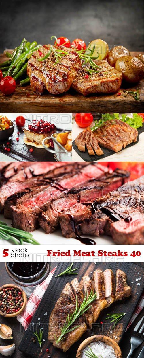 Photos - Fried Meat Steaks 40
