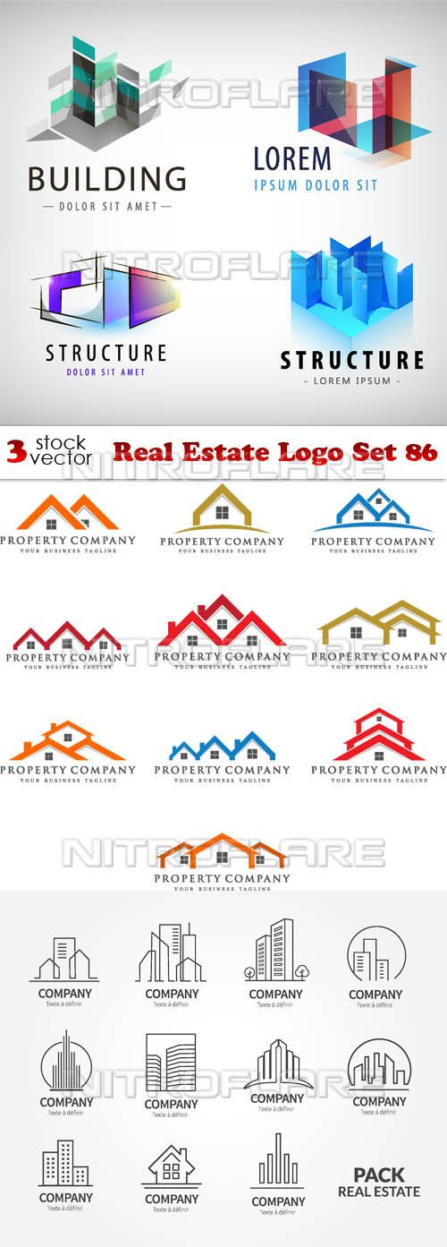 Vectors - Real Estate Logo Set 86