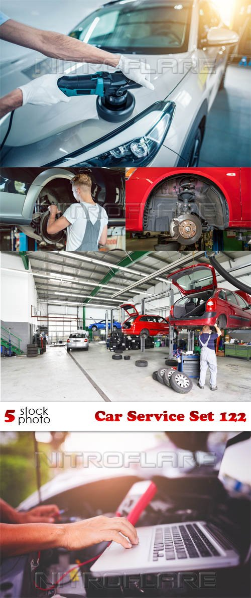 Photos - Car Service Set 122