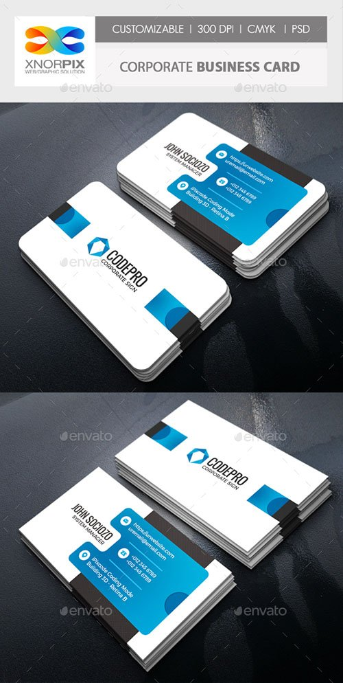 GR - Corporate Business Card 21550027