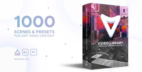 Video Library - Video Presets Package V1.1 - Project for After Effects (Videohive)