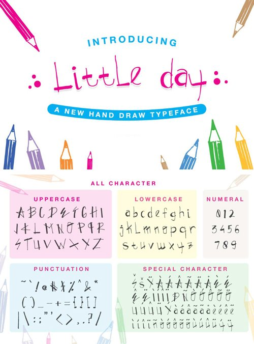 Little Day Handwriting Font
